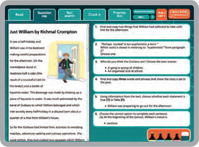 cracking-comprehension-5 Rising Stars Cracking Comprehension  |  Online kits & collections, Reading Comprehension Books | Lioncrest Education