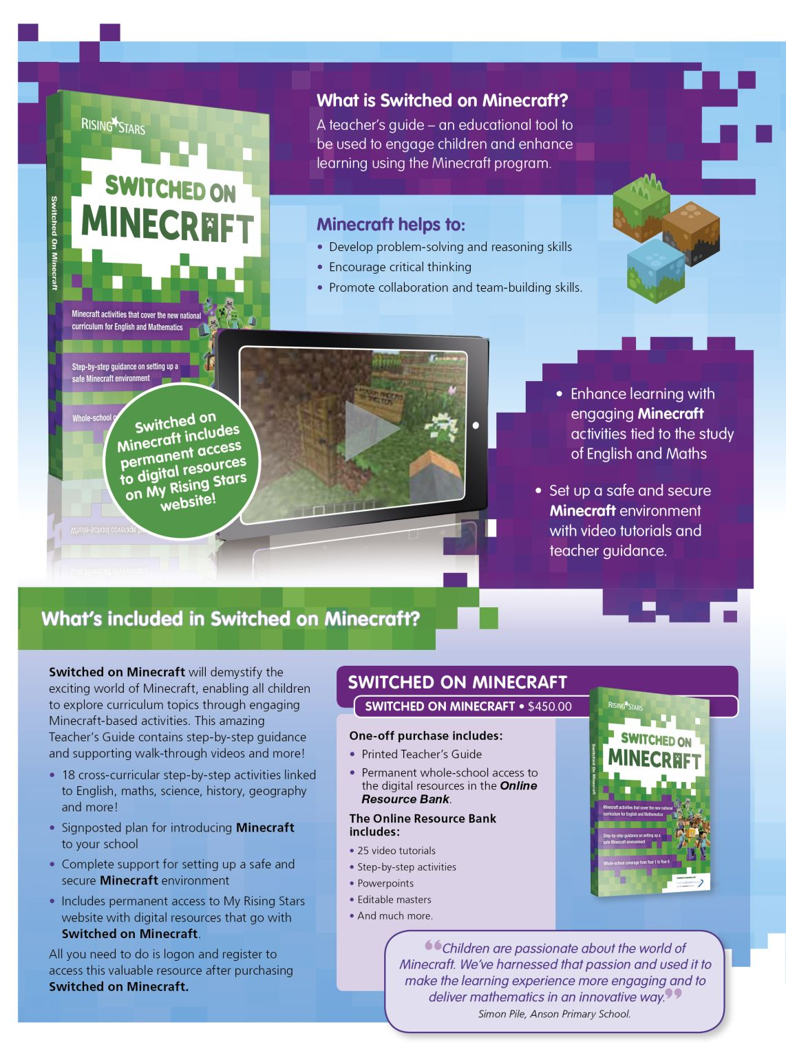 SOMinecraft_p154 Switched On Minecraft  |  Literacy Resources for Primary and Secondary Education | Lioncrest Education