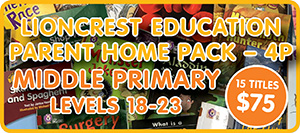 Lioncrest-Parent-Pack-4P School at Home | Home