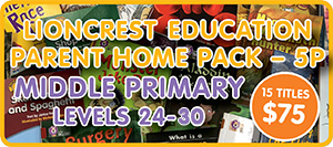 Lioncrest-Parent-Pack-5P School at Home | Home