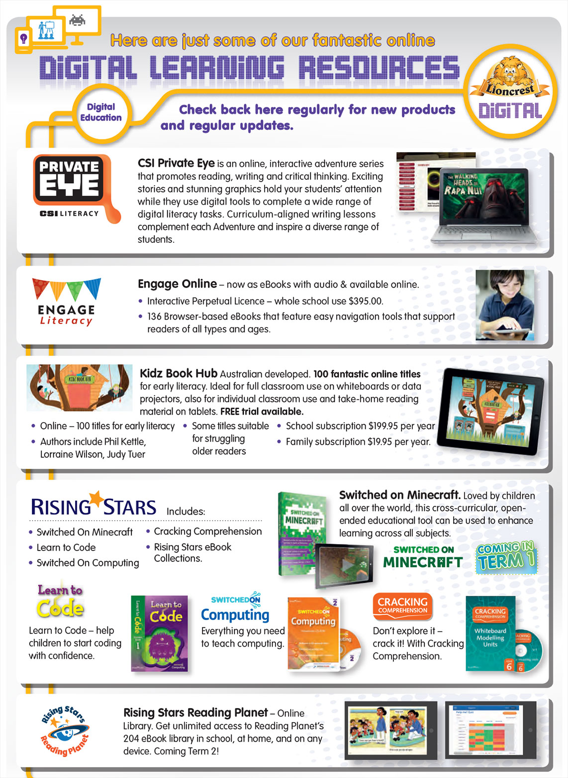 lioncrest-digital-main Digital Learning Resources and Materials Online | Lioncrest Education