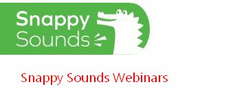 SS_webinar Literacy : Snappy Sounds
