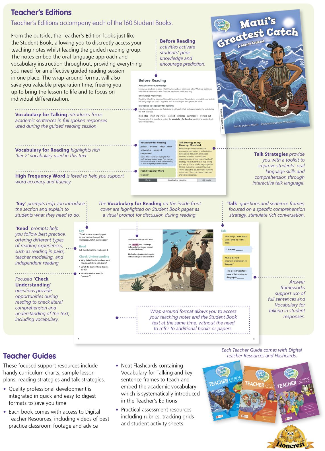 TAT_p57_1142 Talk About Texts  |  Literacy Resources for Primary and Secondary Education | Lioncrest Education