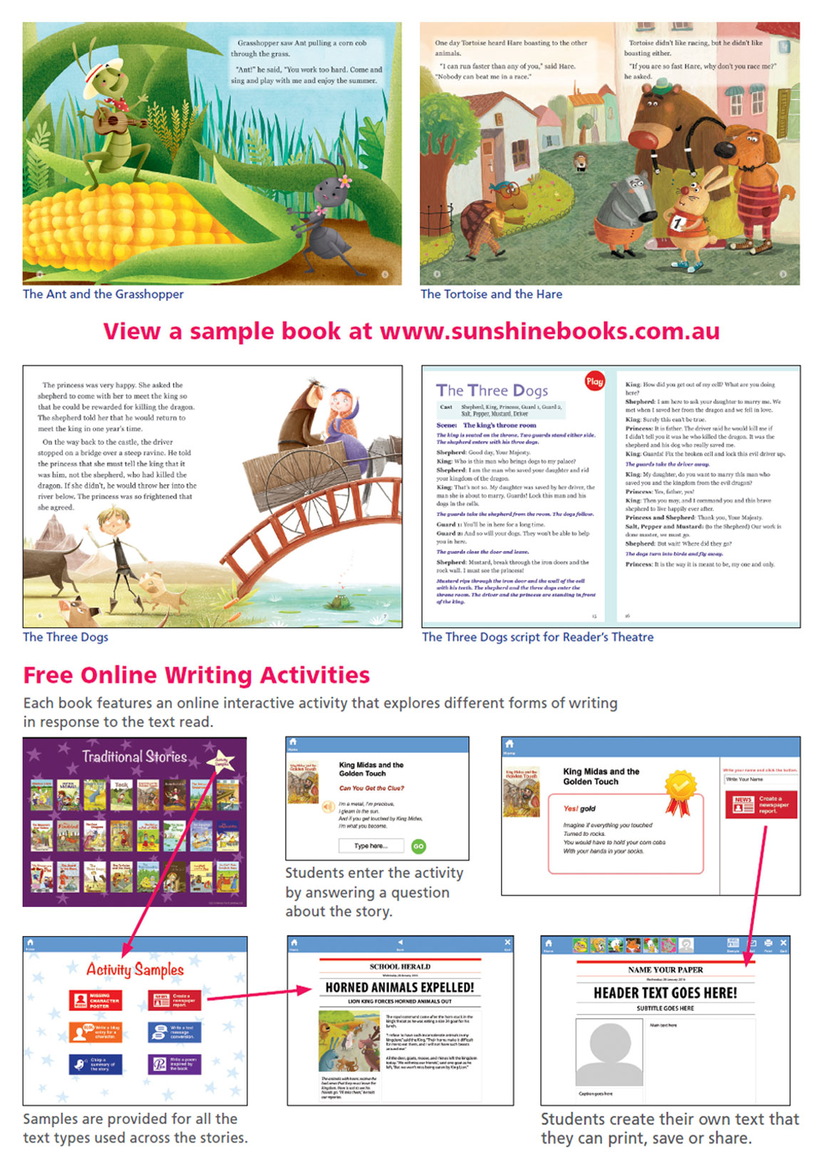 sunshine traditional stories p2