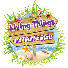 logo-living-things-and-their-habitats STEM, Phonics & Comprehension Materials Range | Lioncrest Education