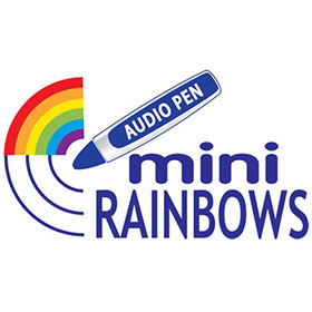 logo-mini-rainbows-audio-pen STEM, Phonics & Comprehension Materials Range | Lioncrest Education
